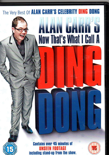 Alan Carr-Now That's What I Call A Ding Dong DVD-Region 2-Brand New