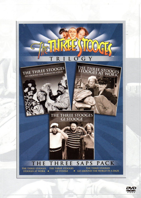 3 Stooges Trilogy (3 Discs)-Region 1 DVD-Brand New-Still Sealed