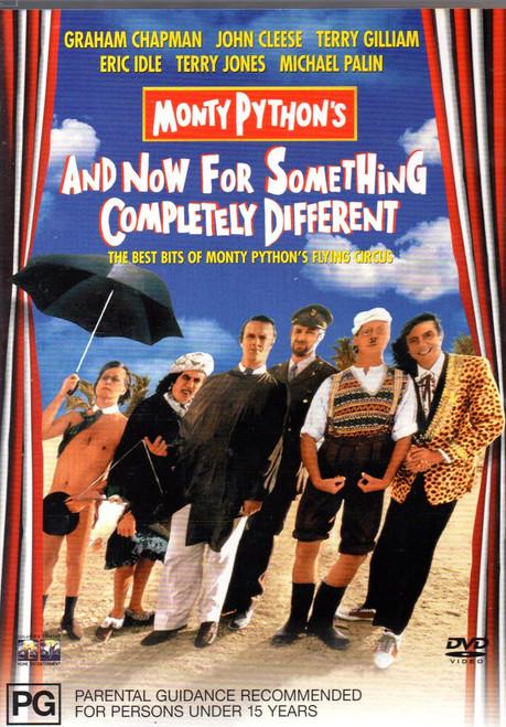Monty Python - & Now for Something Completely Different DVD  Region 4-Brand New-Still Sealed