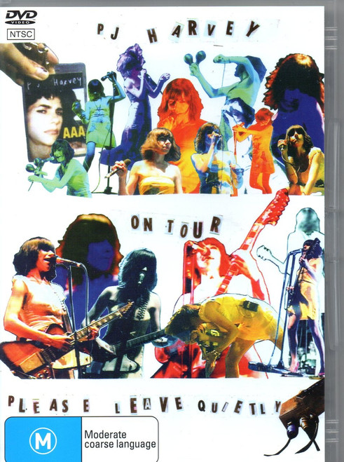 PJ Harvey-Please Leave Quietly DVD-Region Free -Brand New