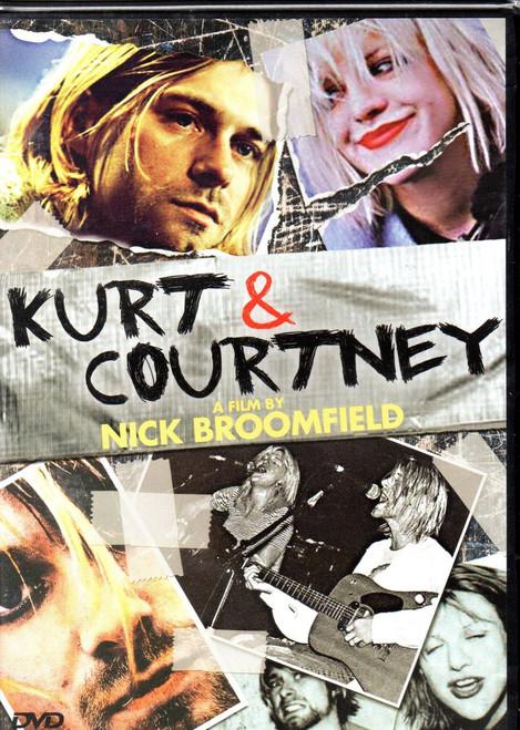 Kurt & Courtney-Nirvana-Region 1 DVD-Brand New-Still Sealed