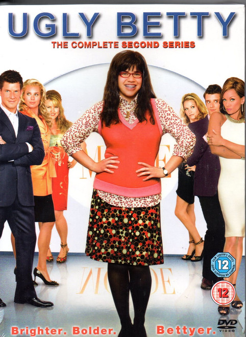 Ugly Betty: Complete Series 2 DVD (5 Disc Set)-Region 2-Brand New-Still Sealed