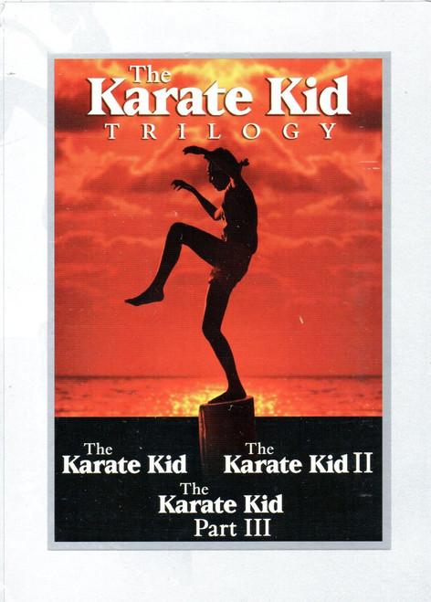 Karate Kid, The Trilogy (1, 2 and 3) (3 Discs)-DVD -Region 1-Brand New-Still Sealed