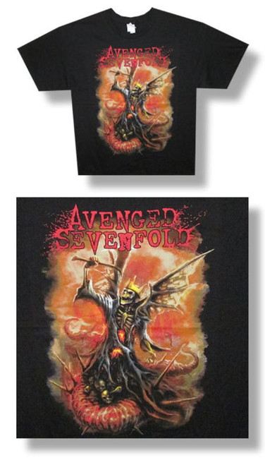 Avenged Sevenfold The Victor Tee-XL-T Shirt-Brand New