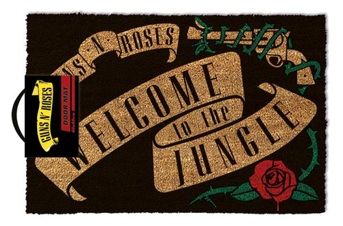 Guns N Roses - Welcome To The Jungle-Doormat 60cm x 40cm-GP85085