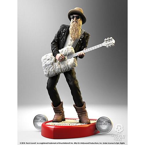 ZZ Top-Billy F Gibbons - Rock Iconz Statue-KNUBGIB100
