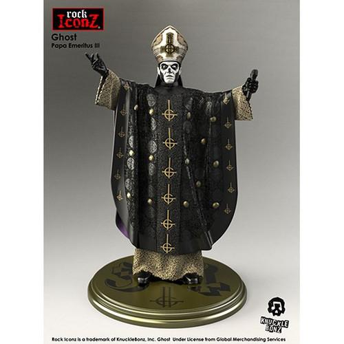 Ghost - Papa Emeritus 111 Rock Iconz Statue-KNUGHOST100