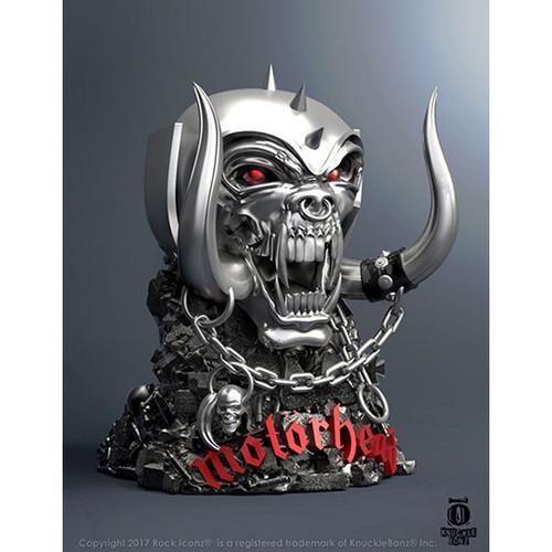 Motorhead - The Warpig Rock Iconz Statue-KNUMTRWP100