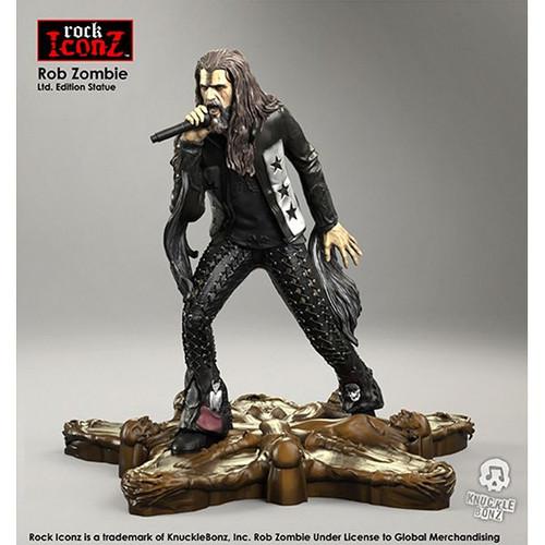 Rob Zombie - Rock Iconz Statue-KNUZOMBIE100