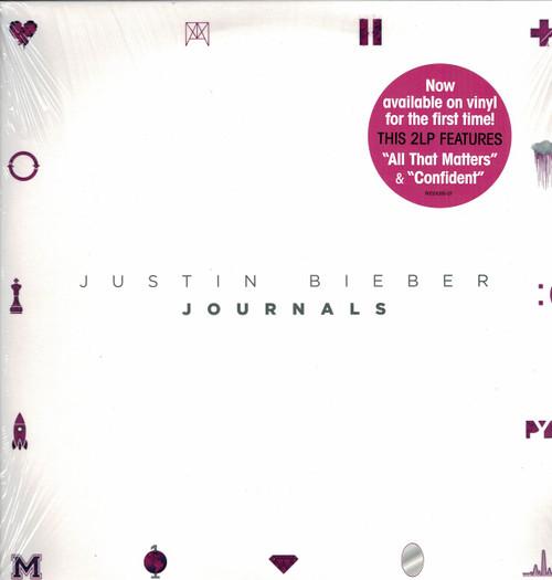 "JUSTIN BIEBER -Journals (2 LP's) ""All That Matters"" ""Confident"" Vinyl LP-Brand New-Still Sealed"