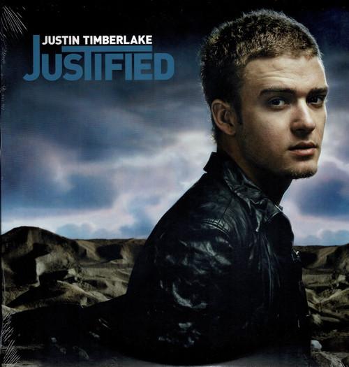 JUSTIN TIMBERLAKE-Justified (2 LP's) Vinyl LP-Brand New-Still Sealed
