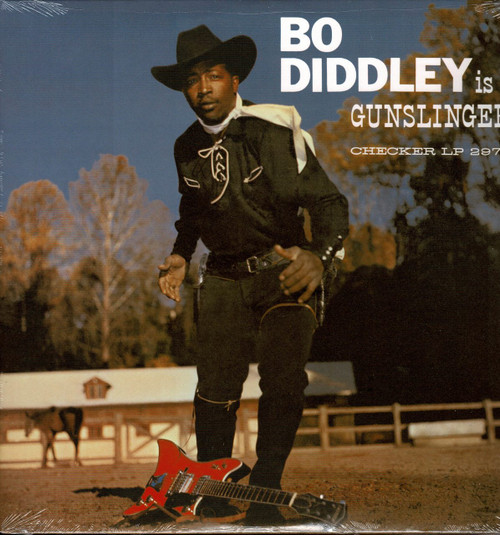 BO DIDDLEY-Bo Diddley is a Gunslinger Vinyl LP