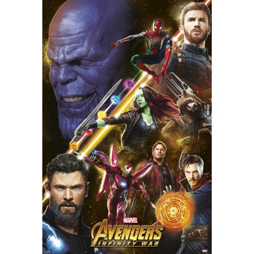 Avengers: Infinity War-Thanos & The Avengers-Poster 61cm x 91cm-LAMINATED Available-P5902
