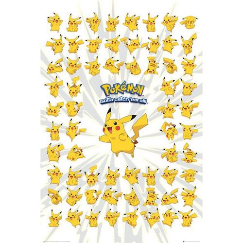 Pokemon-Many Pikachus-Poster 61cm x 91cm-LAMINATED Available-P5047
