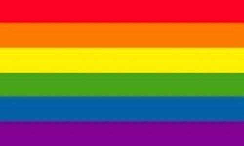 RAINBOW-Textile Fabric Poster Flag-150cm x 90cm-Brand New