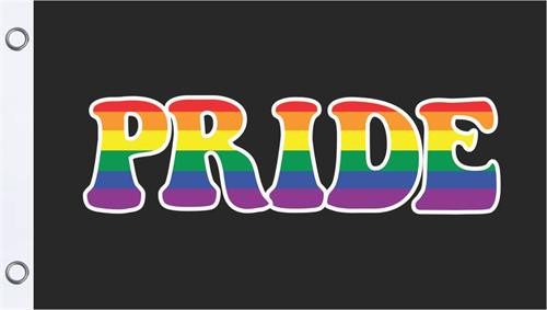 PRIDE-Gay-Rainbow-Textile Fabric Poster Flag-150cm x 90cm-Brand New