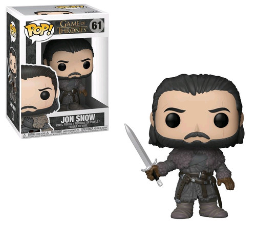 Game of Thrones - Jon Snow (Beyond the Wall) Pop! Vinyl-FUN29166