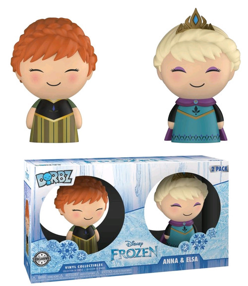 Frozen - Elsa & Anna Coronation US Exclusive Dorbz 2-pack [RS]-FUN21308