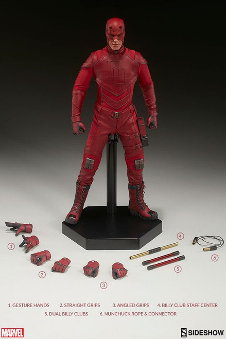 "Daredevil - Daredevil 12"" 1:6 Scale Action Figure-SID100344"