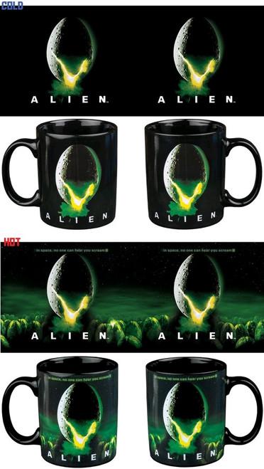 Alien - Egg Logo Heat Change Mug-IKO0973