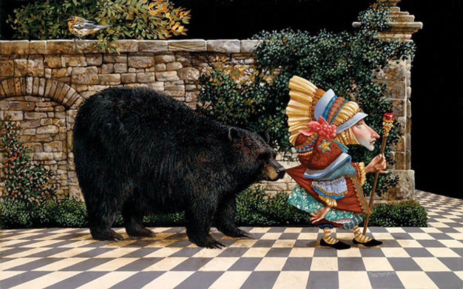 Lawrence Pretended Not to Notice That a Bear, by James Christensen ...