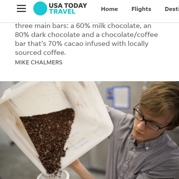 Wm. Chocolate News, February 2018: In the Press, More Shops, & March Events