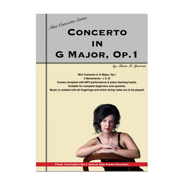 Mini Concerto in G Major for Violin | (Download only)
