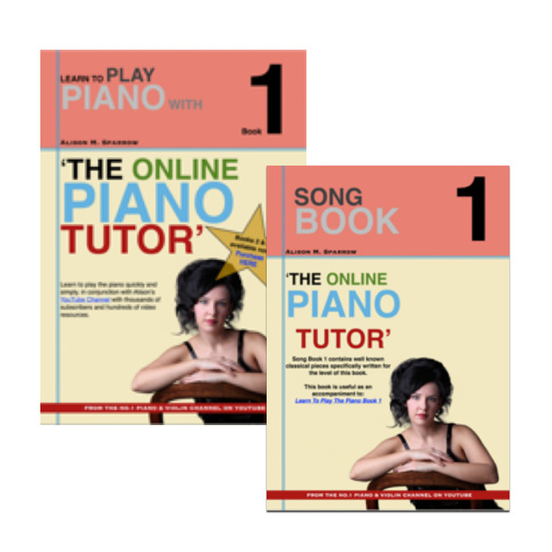 *COMBO DEAL*   Learn To Play The Piano Book 1 AND Song Book 1   (Download Only)