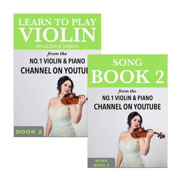 *COMBO DEAL* | Learn To Play The Violin Book 2 AND Song Book 2 | (Download Only)