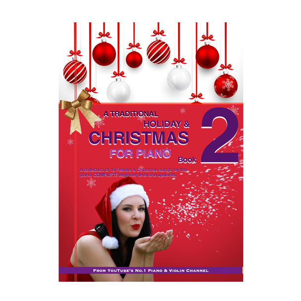 A Traditional Christmas & Holiday PIANO Book 2 | (Download Only)