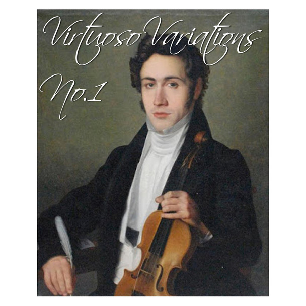 Virtuoso Variations No.1 | EASY Violin Sheet Music | (Download Only)
