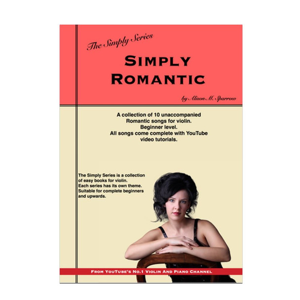 Simply Romantic for Violin | The Simply Series | (Download only)