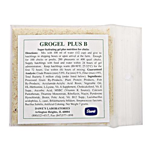 Grogel Plus B - 100 Dose Package