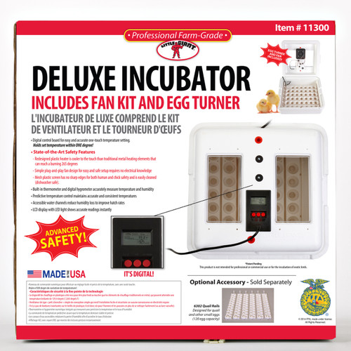 Little Giant Deluxe Incubator with Egg Turner