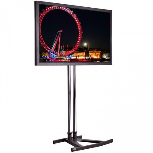 "55"" LED Super Slim Exhibition TV Screen Hire  with stand"