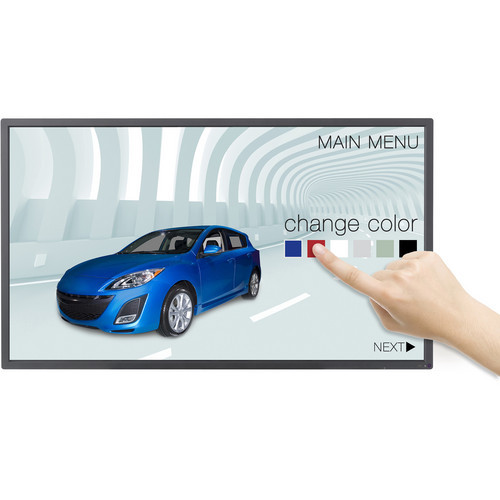 Large touch screen hire for events and exhibitions