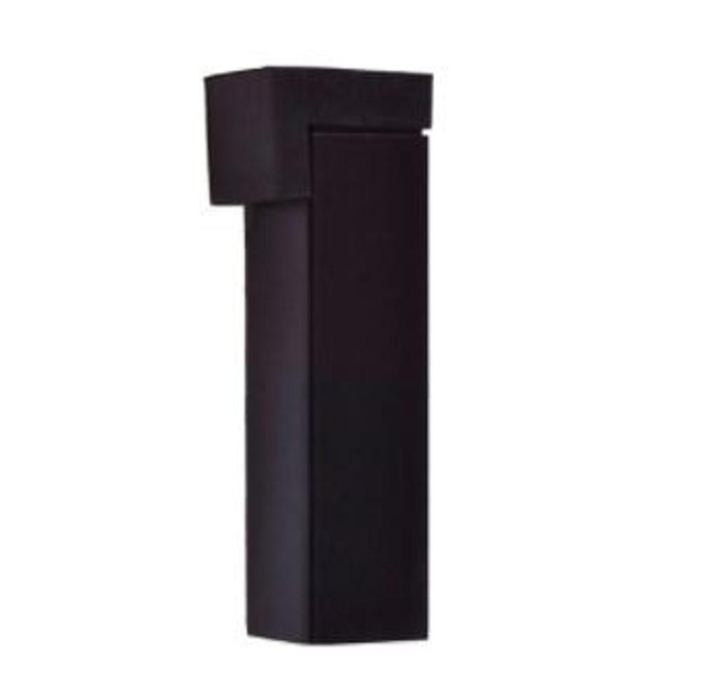 Nidus black door stop square