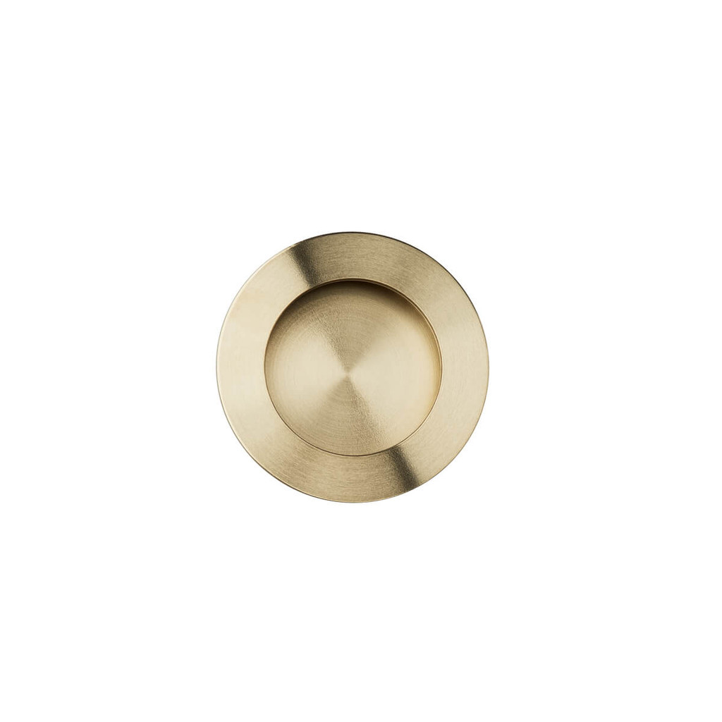 brass flush handle 50mm top