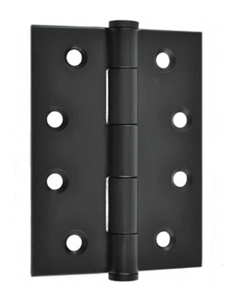 black door hinge 100mm