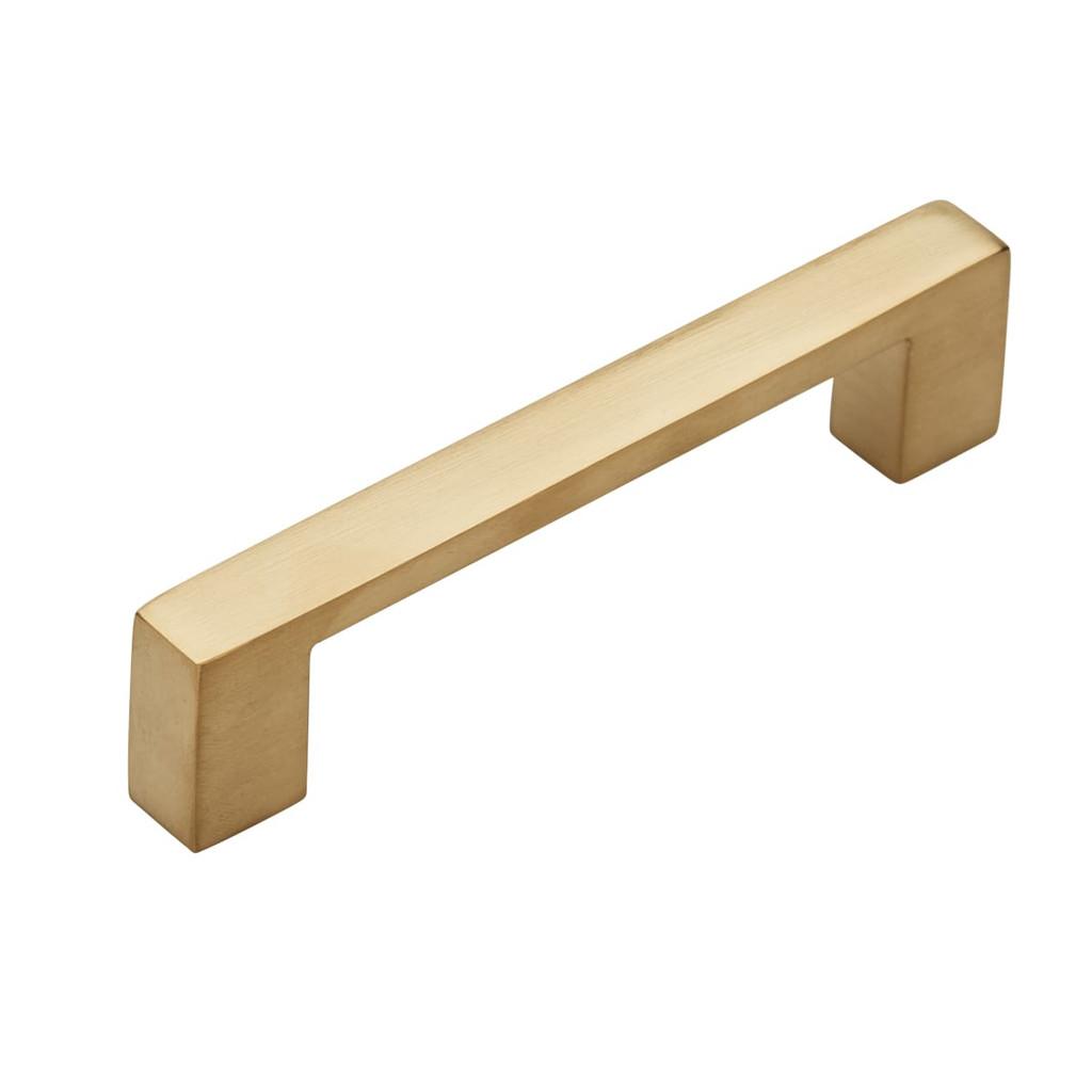 96mm brass cupboard pull handle