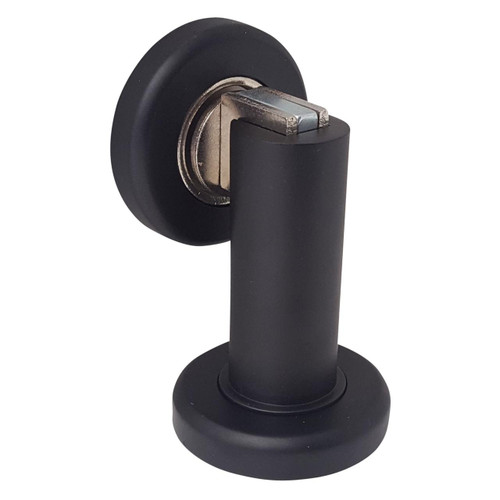 Matte Black Door Handle Passage I Mucheln Edge Series