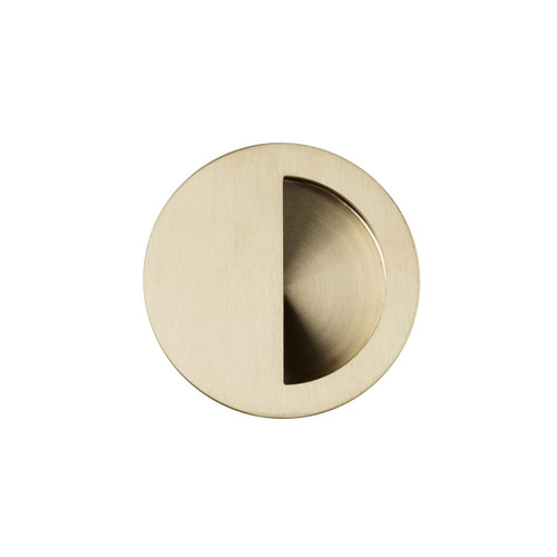 brass flush handle 70mm top