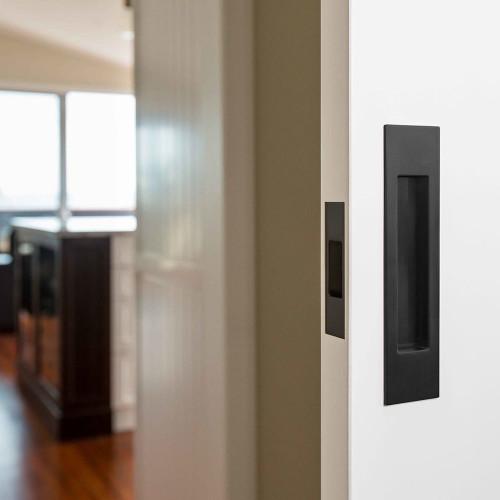 mardeco black sliding door handle set