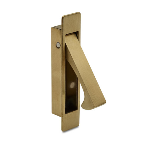 brass flush lever handle pull out