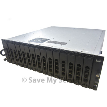 Refurbished Dell PowerVault MD1000 | Direct Attached Storage (DAS) | Dual SAS Controllers | 2PSU + 15 Trays