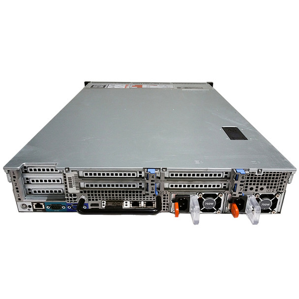 "Dell PowerEdge R720 8P (8-Bay) SFF 2.5"" CTO Server - Rear"