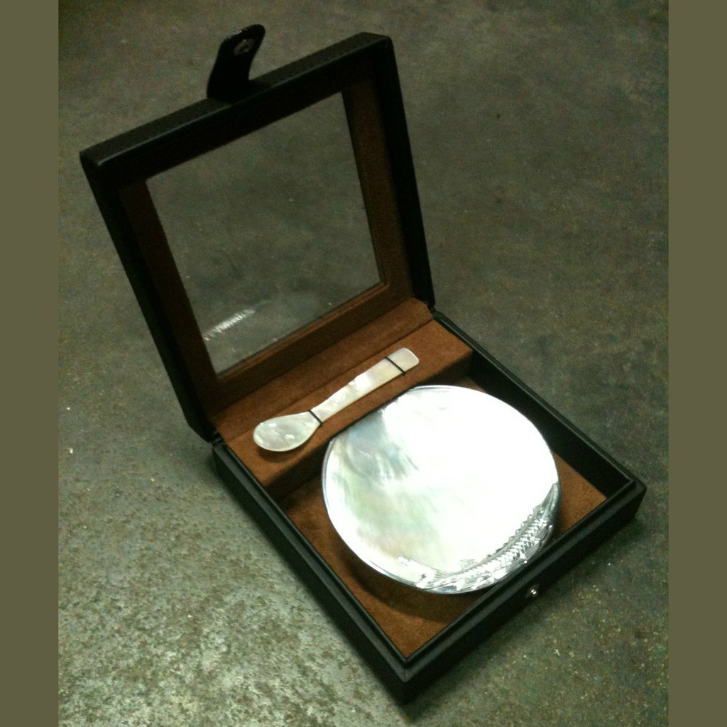 Mother of Pearl Spoon and Server Gift Set
