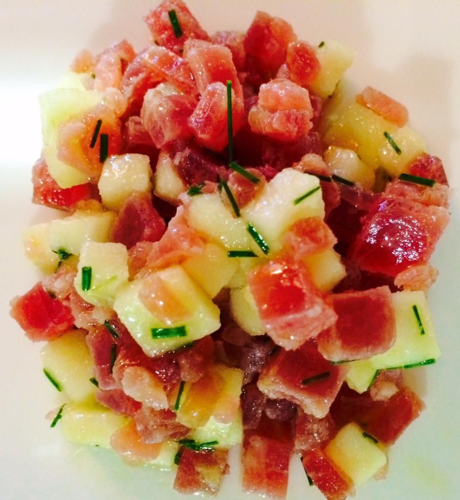 Mojama & Apple Salad