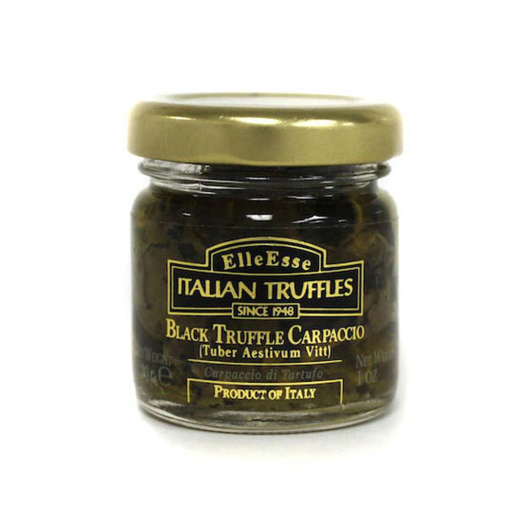 Black Truffle Carpaccio & Cream Pasta