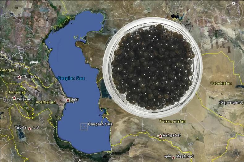 Caviar and The Caspian Sea